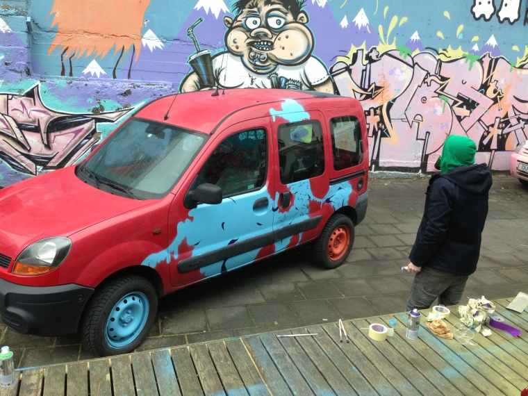 Street Art +  Great Business Idea = Kuku Campers