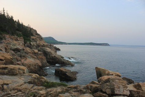 Acadia's rugged granite coast