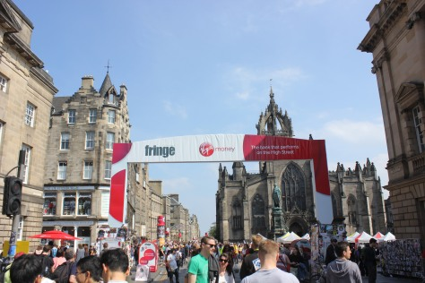 Fringe Festival on the Royal Mile